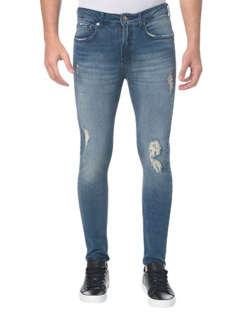 Calca-Jeans-Five-Pockets-Ckj-016-Skinny---Azul-Medio