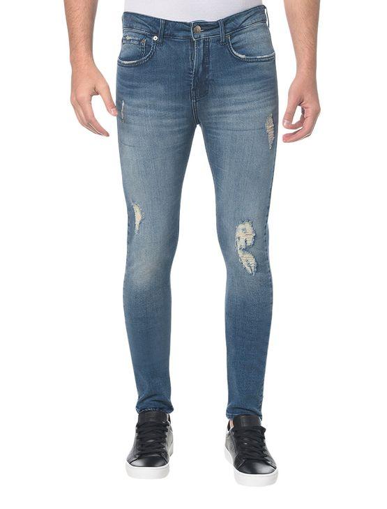 Calca-Jeans-Five-Pockets-Ckj-016-Skinny---Azul-Medio
