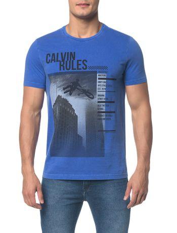 Camiseta-Ckj-Mc-Calvin-Rules---Azul-Medio