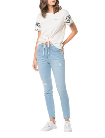 Calca-Jeans-Five-Pockets-Ckj-010-High-Rise-Skinny---Azul-Claro