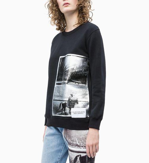 Casaco Ckj Fem Andy Warhol Rodeo - Preto