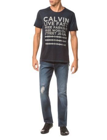 Camiseta-Ckj-Mc-Estampa-Calvin-Live-Fast---Azul-Medio