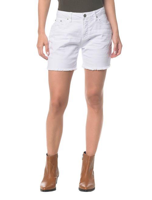 Bermuda Color Five Pockets - Branco 2