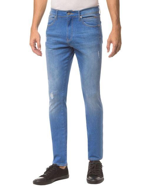 Calça Jeans Ckj 026 Slim - Azul Royal