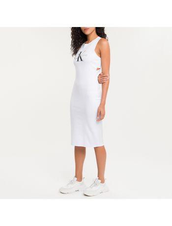 Vestido-Ckj-Fem-Sleeveless---Branco