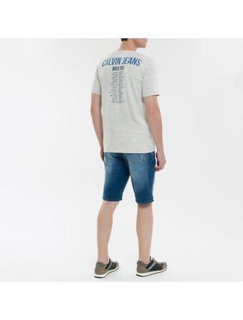 Camiseta-Ckj-Mc-Calvin-Klein-Jeans-Tour--Cinza-Claro