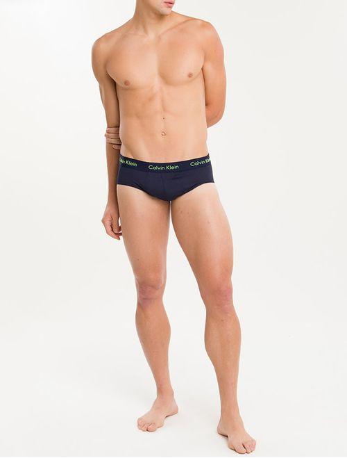 Cueca Calvin Klein Underwear Brief De Modal Marinho
