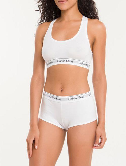 Calcinha Short Modern Cotton - Branco 2