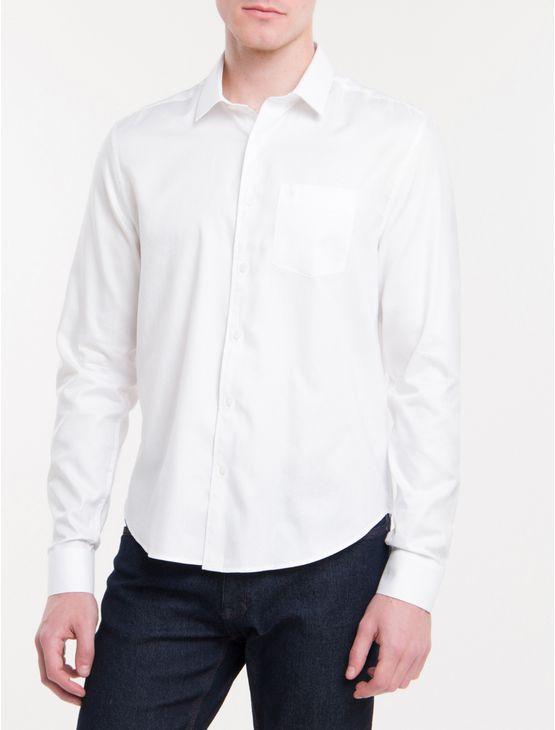 Camisa-Regular-Geneva-Simples-Bolso