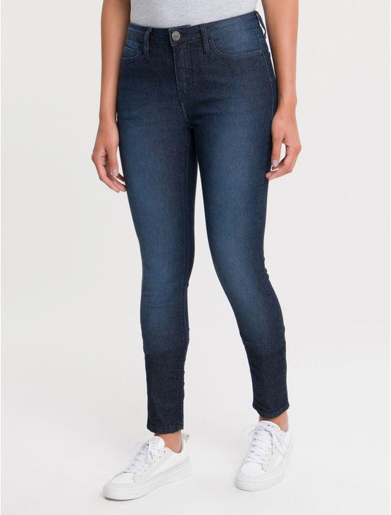 Calca-Jeans-Five-Pockets-Ckj-001-Super-Skinny---Azul-Marinho