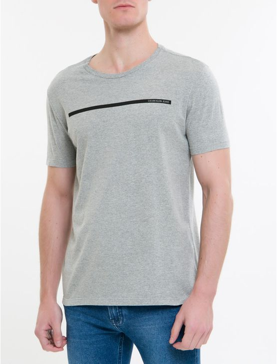 Camiseta-Ckj-Mc-Est-Palito---Cinza-Mescla