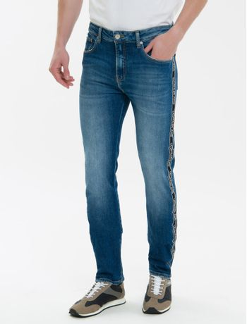 Calca-Jeans-Five-Pockets-Ckj-026-Slim---Azul-Marinho