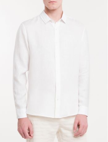 Camisa-Regular-Cannes-Linen---Branco