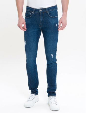 Calca-Jeans-Five-Pockets-Ckj-016-Skinny---Azul-Marinho
