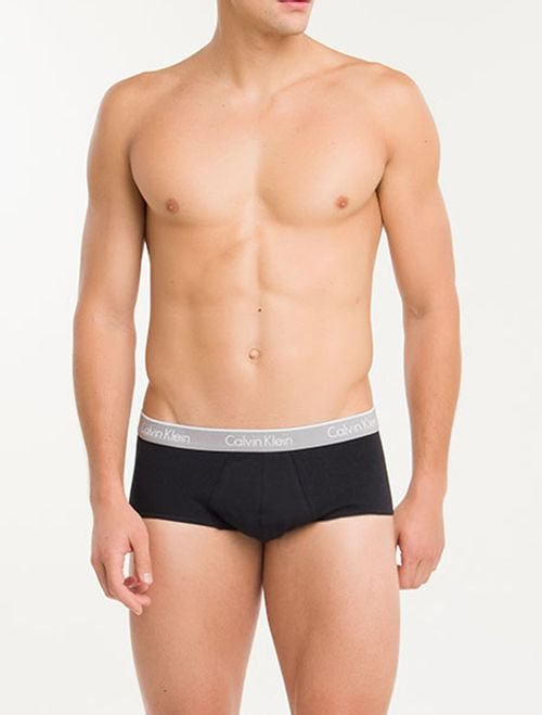Kit 2 Cuecas Brief De Cotton - Preto