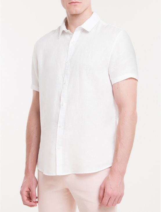 Camisa-Mg-Curta-Regular-Cannes-Linen---Branco