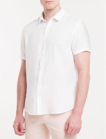 Camisa-Mg-Curta-Regular-Cannes-Linen---Branco