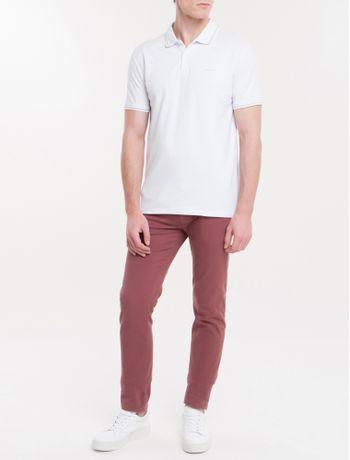 Polo-Slim-Basica-Calvin-Klein-Relevo---Branco