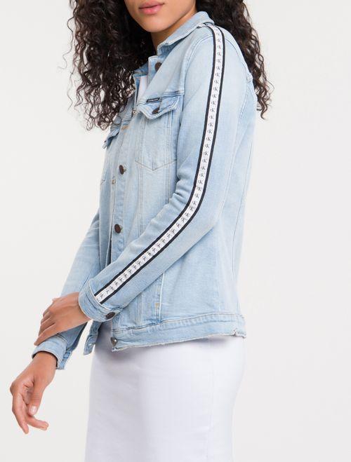 Jaqueta Jeans Trucker - Azul Claro
