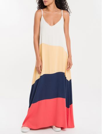 Vestido-Color-Block-Calvin-Klein---Off-White-