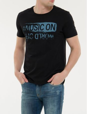 Camiseta-Ckj-Mc-Est-Music-On---Preto-
