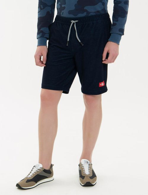 Bermuda Jeans Modelo Chino - Marinho