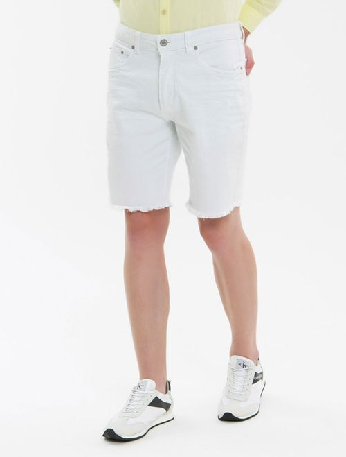 Bermuda Color Five Pockets - Branco 2