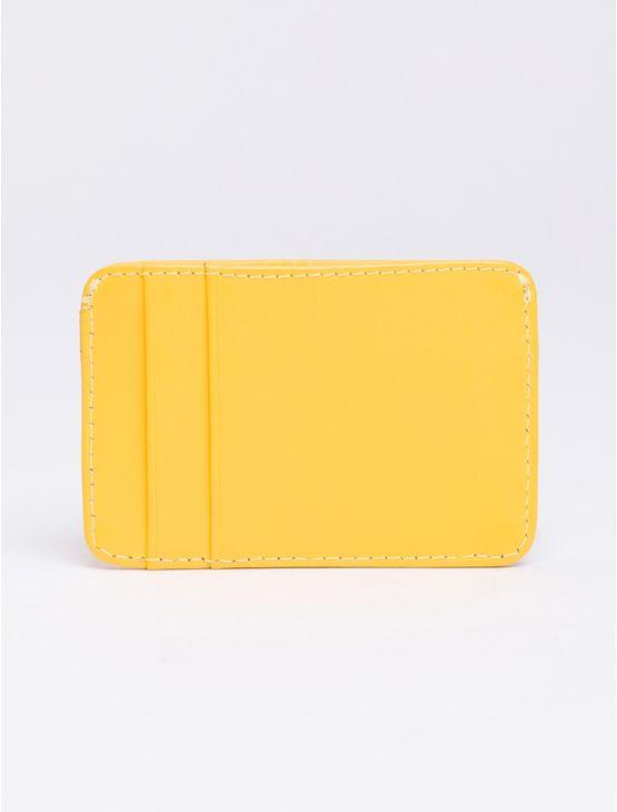 Porta-Cartao-Masc-Couro-Logo---Amarelo-Ouro-
