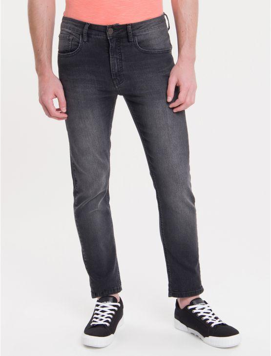 Calca-Jeans-Five-Pockets-Slim---Preto-