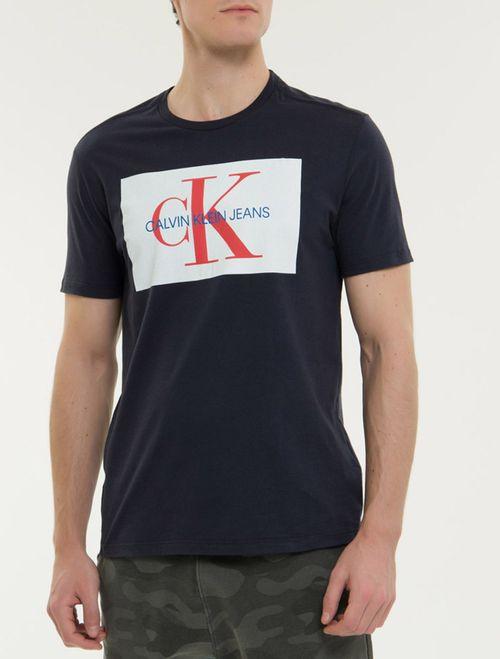 Camiseta Ckj Mc Re Issue - Marinho