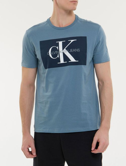 Camiseta Ckj Mc Re Issue - Indigo