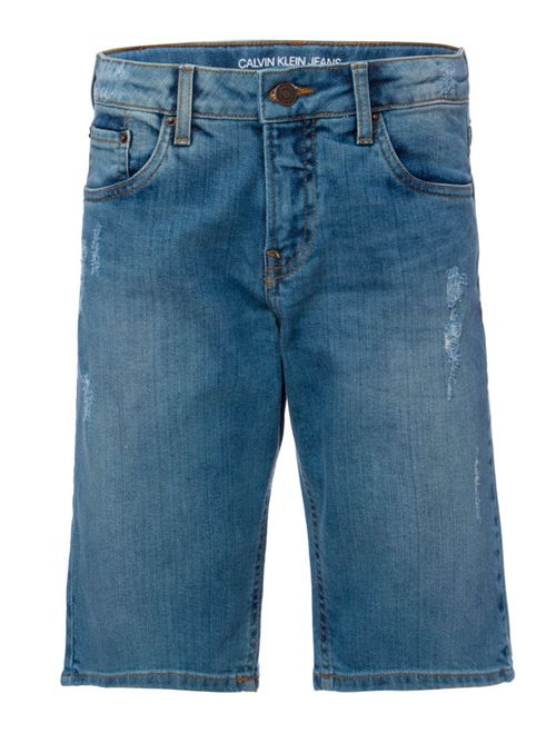 Bermuda Jeans Five Pockets - Azul Médio