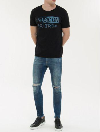 Camiseta-Ckj-Mc-Est-Music-On---Preto-