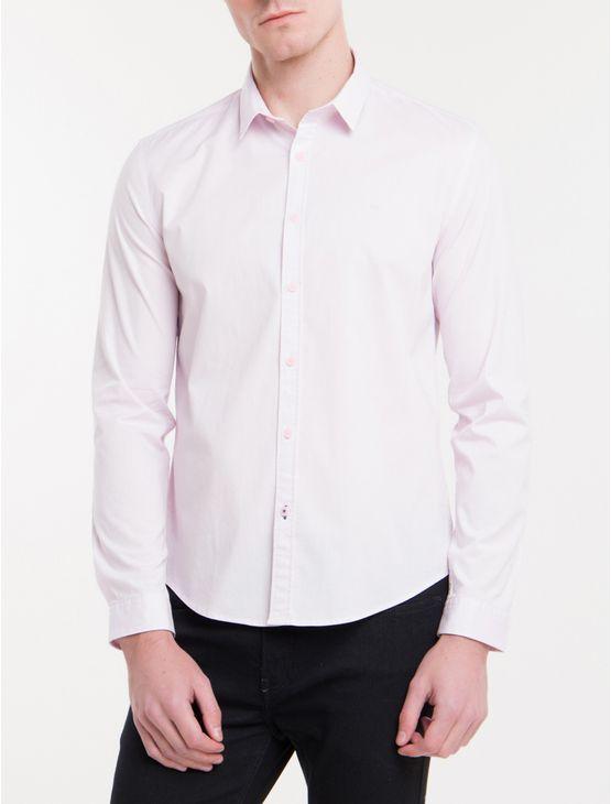 Camisa-Ml-Masc-Slim-Basica---Rosa-Claro
