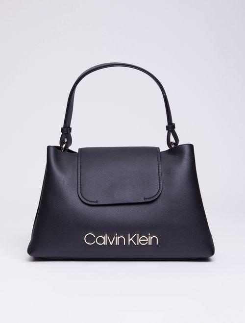 Bolsa Média Calvin Klein Dressed Up - Preto