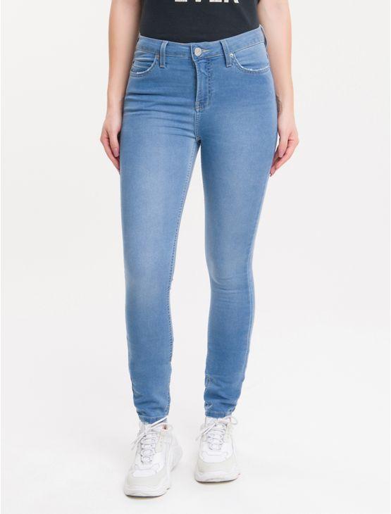 Calca-Jeans-Five-Pockets-Super-Skinny---Azul-Claro