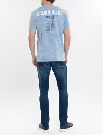 Camiseta-Ckj-Mc-Calvin-Klein-Jeans-Tour----Indigo