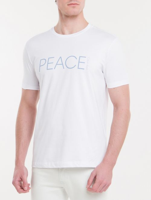 Camiseta Regular New Year Peace - Branco 2