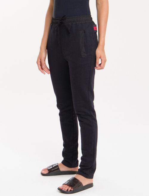 Calça Moletom Ck Black Loungewear - Preto