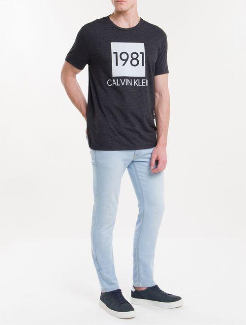 Camiseta M/C 1981 Lounge - Chumbo