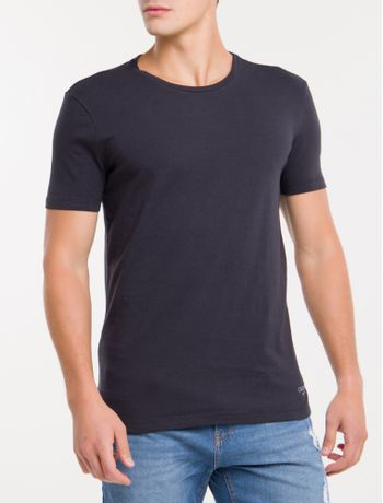 Kit-2-Camisetas-De-Cotton-Gola-Careca---Preto-
