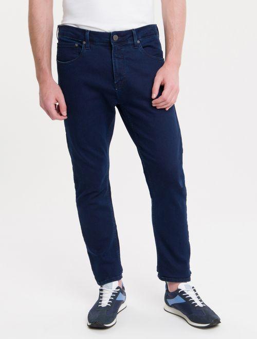 Calça Jeans Five Pockets Athletic Taper - Marinho