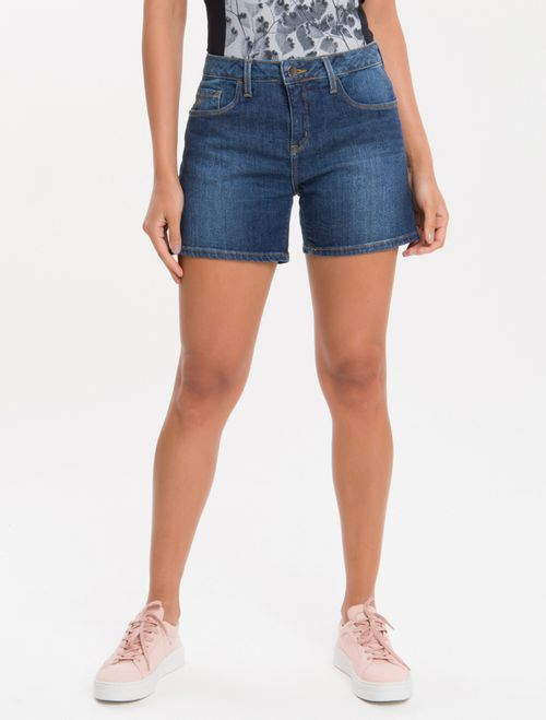 Bermuda Jeans - Marinho