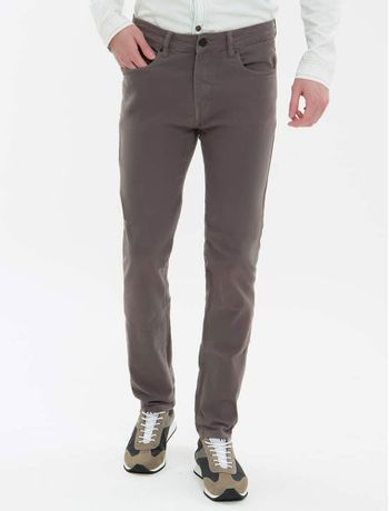 Calca-Color-Five-Pockets-Slim---Chumbo-