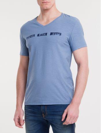 Camiseta-Ckj-Mc-Est-Logo-Pintura---Indigo-