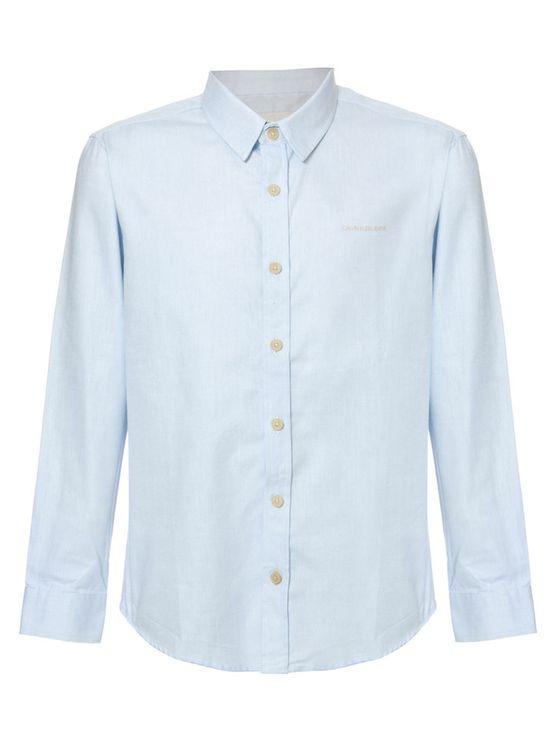 Camisa-Ml-Ckj-Com-Silk-Logo---Azul-Claro-