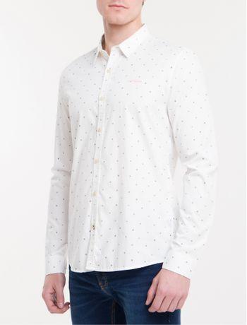 Camisa-Ml-Ckj-Masc-Micro-Print-Geometric---Branco-2-