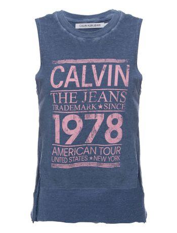 Blusa-Sm-Ckj-Calvin-The-Jeans-1978---Azul-Medio-