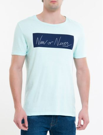 Camiseta-Ckj-Mc-Est-New-Or-Never---Verde-Claro-