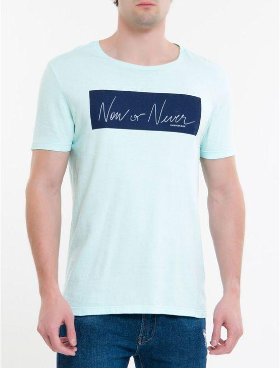 Camiseta-Ckj-Mc-Est-New-Or-Never---Verde-Claro-